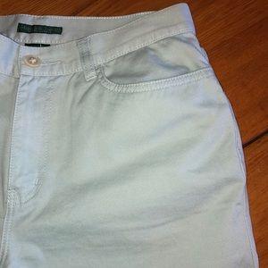 Ralph Lauren Pants - Ralph Lauren light blue capris size 4